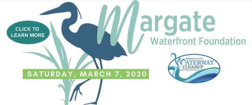Margate Waterway Cleanup on March 7th