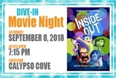 Dive-In Movie Night on September 8th