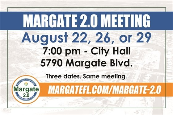 Margate 2.0 Public Engagement Meetings