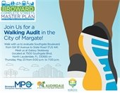 Walking Audit is tomorrow, May 23rd at 5 p.m.