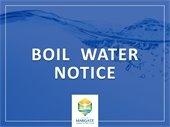 Precautionary Boil Water Notice