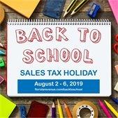 Sales Tax Week is August 2-6, 2019