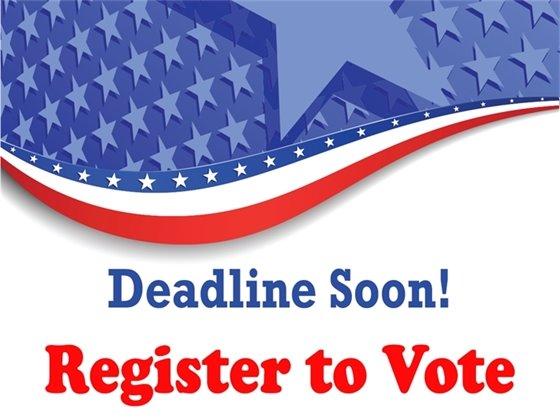 Voter Registration Deadline is October 5th
