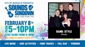 Sounds at Sundown on February 8th