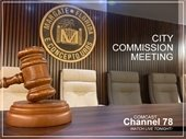 Commission Meeting Tonight