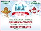 Winter Festival Set for Friday, December 13th