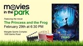 Movies in the Park on Saturday, February 29th