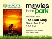 Movies in the Park is this Saturday, December 21st