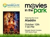 Movies in the Park kicks off October 12th