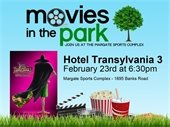 Movies in the Park on February 23rd