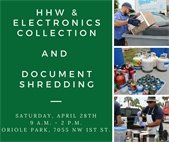 Household Hazardous Waste and Electronics Collection Event and Document Shredding