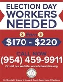 Election Day Workers Needed