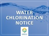 Water Chlorination Process Going on Now