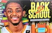 Brandon Knight Back 2 School Backpack Bash
