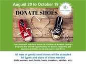 Shoe Donation for Voices for Children of Broward County