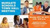 Margate Schools Town Hall Meeting on October 29th