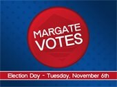 Margate Voted on Election Day