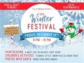 Winter Festival Set for December 14th