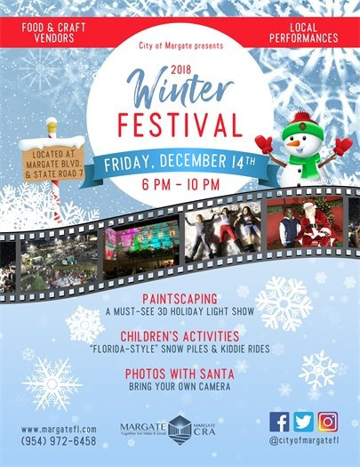 2018 Winter Festival on December 14th