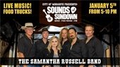 Sounds at Sundown this Saturday, January 5th