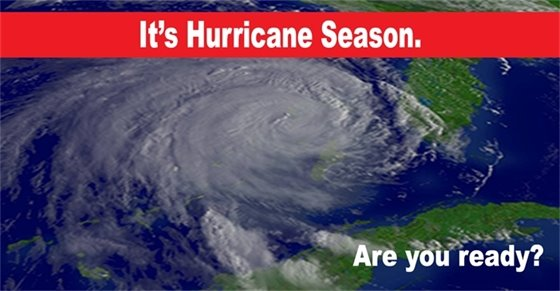 It's hurricane season. Are you ready?