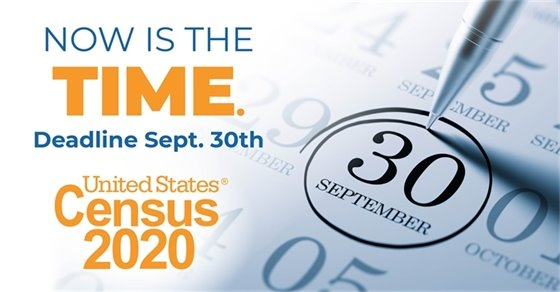 Deadline to Complete the Census is Today!