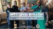 Coffee With a Cop on February 18th