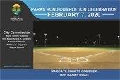 Parks Bond Completion Celebration