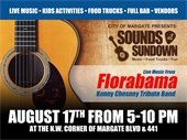 Sounds at Sundown on August 17th
