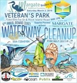 Broward County Waterway Clean Up on March 2nd