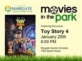 Movies in the Park on January 25th