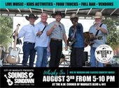 Sounds at Sundown is Saturday, August 3rd