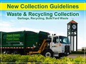 New Collection Guidelines for Waste and Recycling Collection