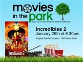 Movies in the Park featuring Incredibles 2