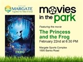 The Princess and the Frog on Saturday, February 15th