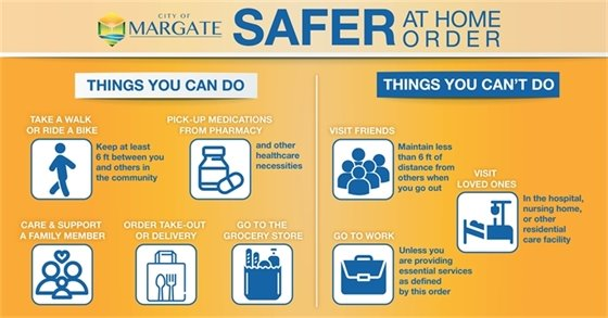 Safer at Home Order