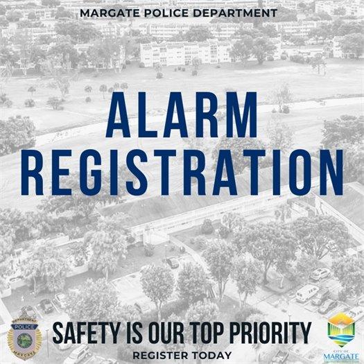 Alarm Registration Information