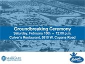 Culver's Groundbreaking Ceremony on Saturday, February 15th
