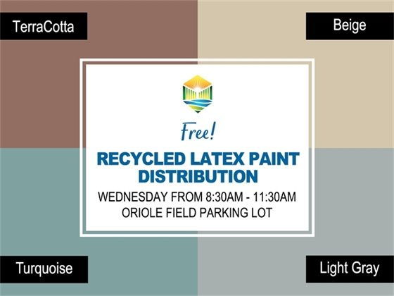 Free Paint Giveaway on October 22nd