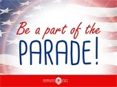 Be a part of the parade