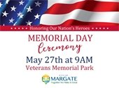 Memorial Day on May 27th