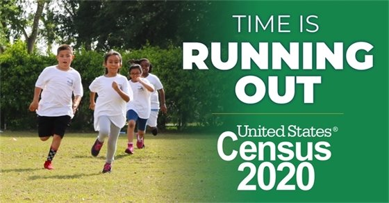Time is Running Out - Complete the Census Today