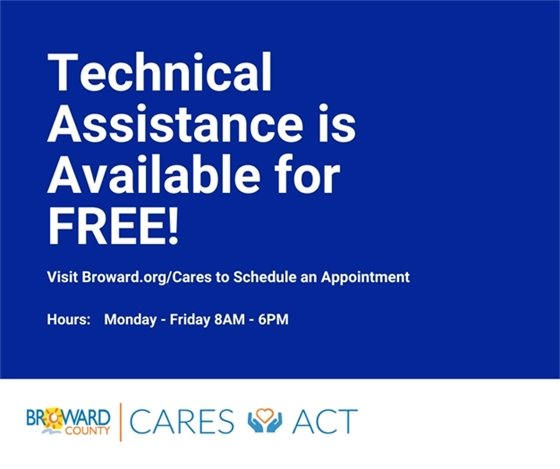 Technical Assistance Available