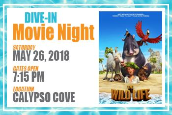 Dive-In Movie Night May 26 2018