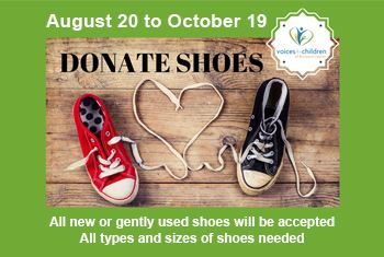 Donate Shoes 2018