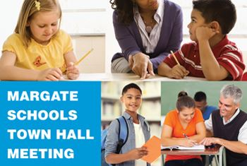 Margate Schools Town Hall Meeting