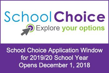 School Choice Application Window Opens December 1st