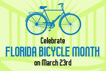 Celebrate Florida Bicycle Month