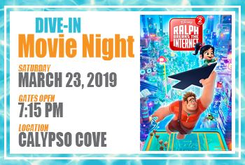 Dive-In Movie Night