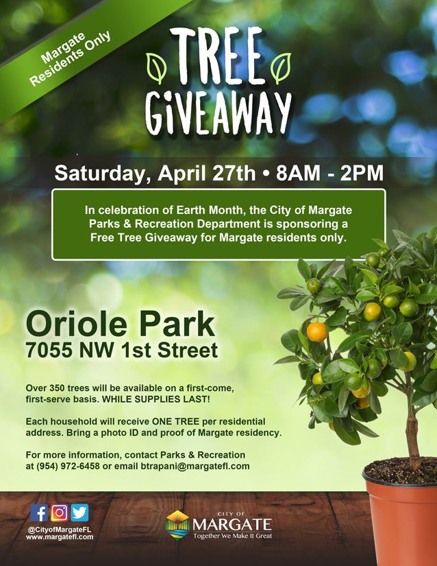 Tree Giveaway 2019-Flyer